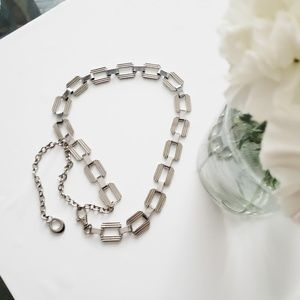 Accessories - silver } waist Chain belt